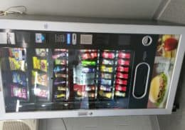 Energize Vending. Combination Drink and Snack machines.