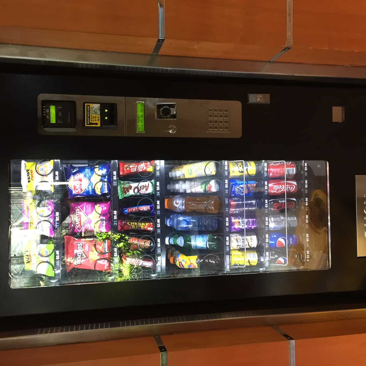2 Combo vending machines for sale