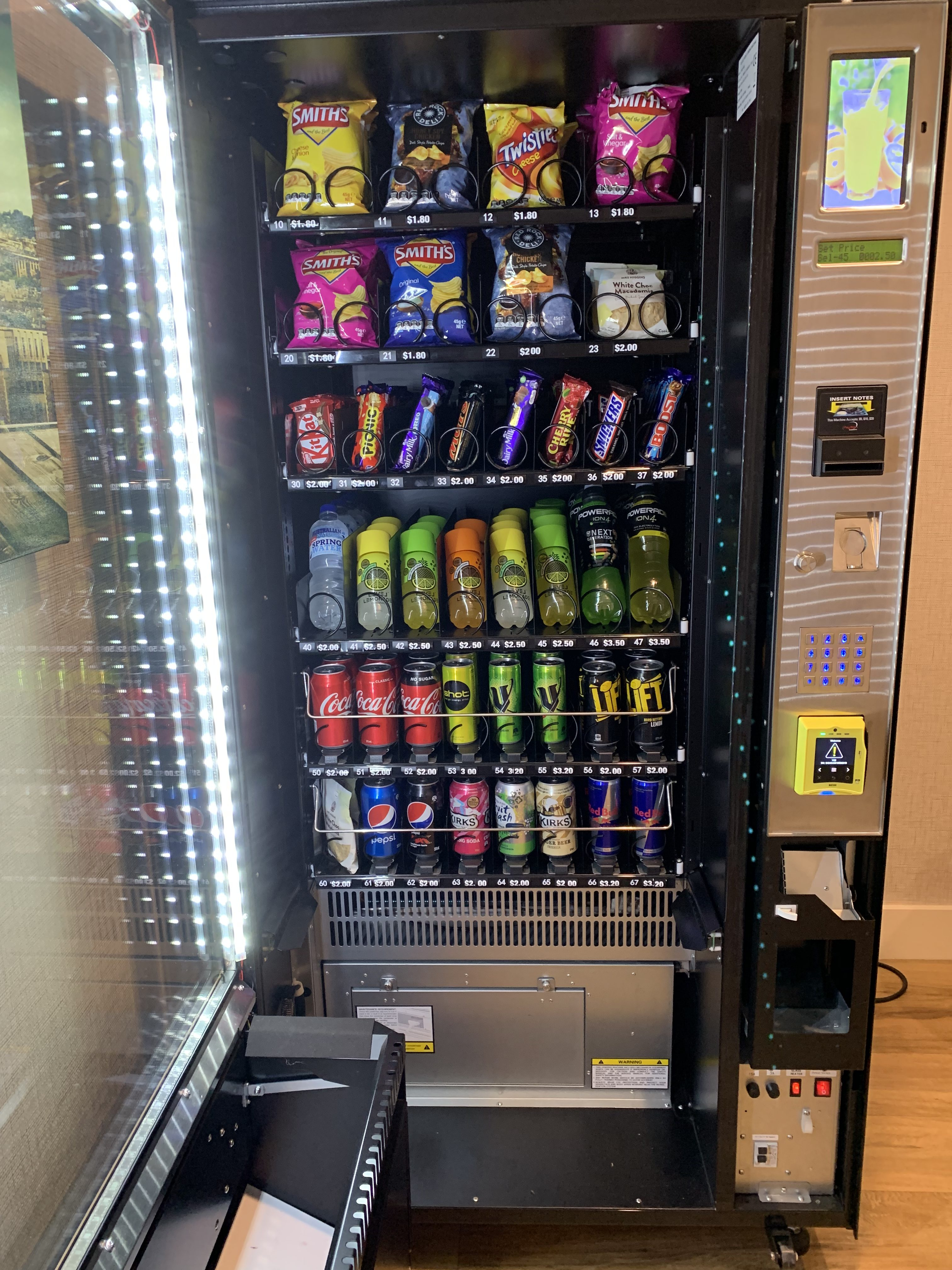 A64 VM4 Combo Vending Machine